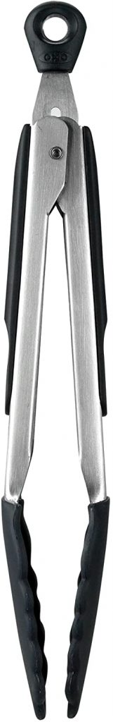 OXO Good Grips 9-Inch Tongs with Silicone Heads