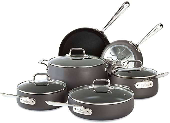 All-Clad Hard Anodized Cookware Set