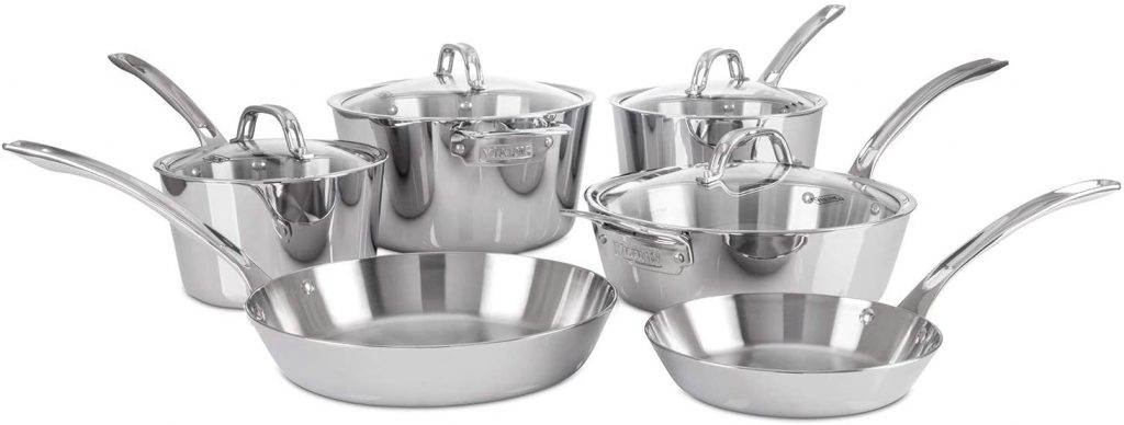 Viking 3-Ply Contemporary Cookware Set