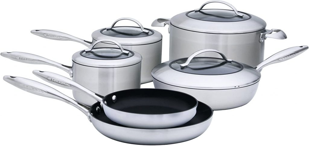 Best Ceramic Cookware Set for Searing: Scanpan CTX 10-Piece Deluxe Set
